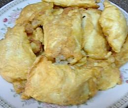 蛋饺子,艺名:美女怀胎的做法