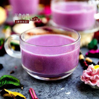 【紫薯核桃饮】养颜又补脑的悦己饮