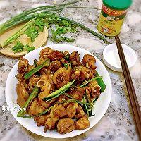 姜葱炒鸡#鲜油赞,爱有伴#