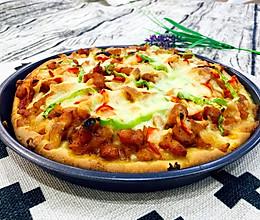 奥尔良鸡肉披萨【8寸】的做法