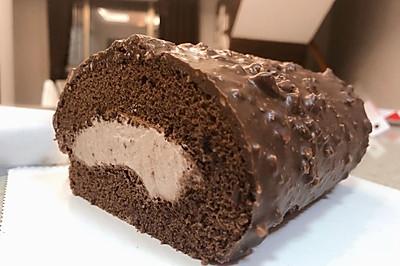金莎巧克力卷
