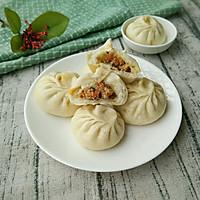 面食系列——胡萝卜肉沫包子