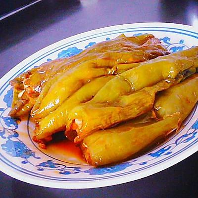 油焖青椒塞猪肉