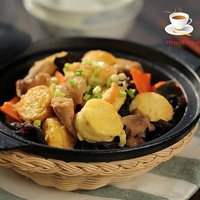 鸡肉日本豆腐煲