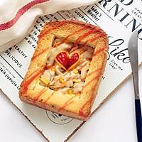 #520,美食撩动TA的心!#爱心鸡肉厚多士的做法图解6