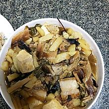 干白菜炖五花肉