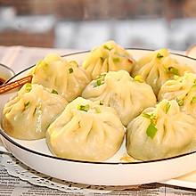 素馅水煎包#快手又营养,我家的冬日必备菜品#
