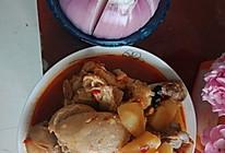 麻辣鸡腿炖土豆的做法