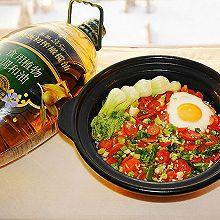 #橄欖中國味 感恩添美味#孩子愛吃的煲仔飯在家做,好吃又健康