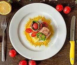 高颜快手菜 培根蔬果沙拉卷的做法