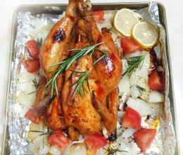 美味鲜嫩奥尔良烤鸡的做法