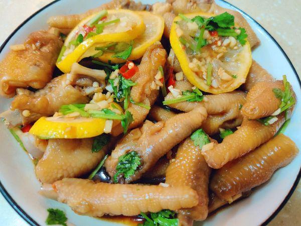 夏天开胃小吃|网红柠檬鸡爪的做法