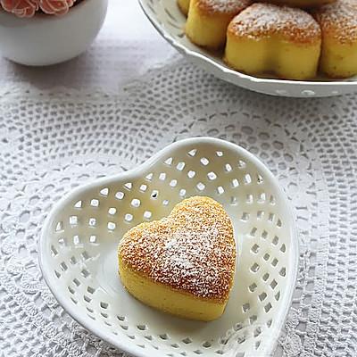 心形小海绵蛋糕