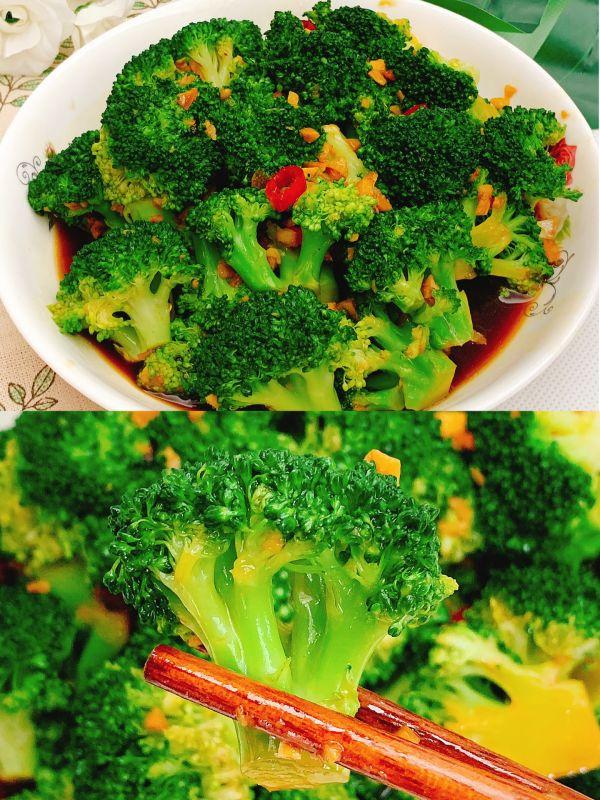 ㊙️夏日减肥必备瘦身菜!低脂低卡蒜蓉西蓝花的做法
