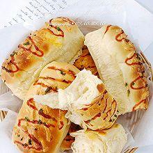 一次发酵汤种香葱芝士面包