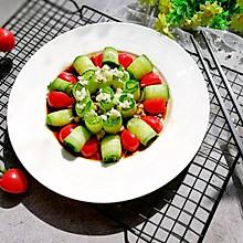 #春天肉菜这样吃#响油黄瓜