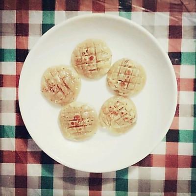 坚果酥脆减肥饼干(电饼铛版)