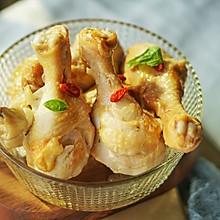 铸铁锅菜|一枚调味料出品多汁盐焗鸡腿#硬核菜谱制作人#