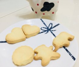黄油饼干动物的做法