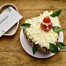 心型裸蛋糕