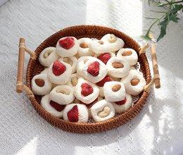 #厨房有维达洁净超省心#十分钟搞定嘎嘣脆的棉花糖饼干的做法
