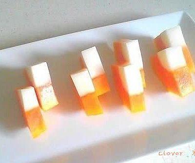 【木瓜椰奶冻】消暑甜品
