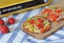 一食半刻 | 迷你饺子皮披萨的做法