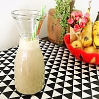 减肥食谱-苹果香蕉奶昔