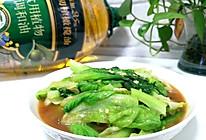 #橄享国民味 热烹更美味#绝对美味~蚝油生菜的做法