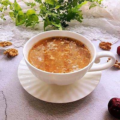 核桃糯米红枣粥