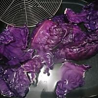 #硬核菜谱制作人#紫甘蓝美女的做法图解3
