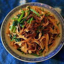 家常小菜—香芹豆干炒肉丝