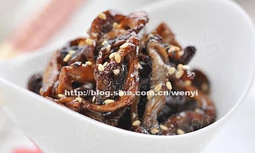 素京酱肉丝的做法