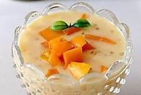 椰浆芒果西米露——雄鷄標™椰浆试用菜谱的做法