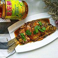 红烧鲫鱼#金龙鱼营养强化维生素A  新派菜油#的做法图解9