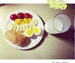 学生懒人早餐的做法