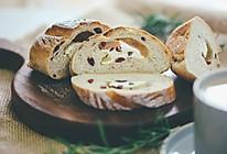 全麦蔓越莓芝士(奶酪)软欧面包的做法