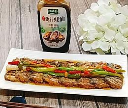 鲍汁蚝油炆带鱼的做法