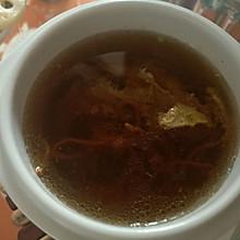 虫草花肉糜汤