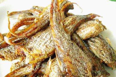 五香烤子鱼
