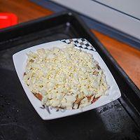 #助力高考营养餐#培根芝士焗口蘑的做法图解6