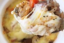 黑椒牛肉焗饭的做法