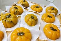 #美食视频挑战赛# 芝士和红豆的南瓜饼的做法