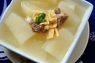 瑶柱排骨萝卜汤