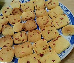 微波炉版蔓越莓饼干的做法