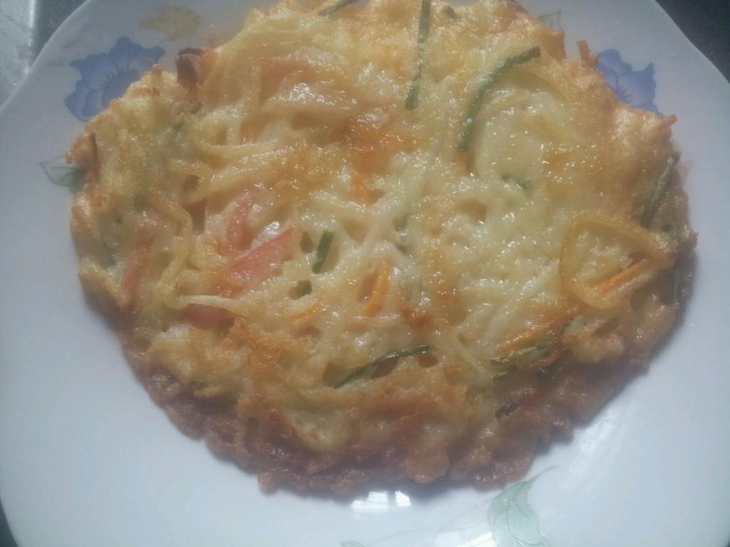 虾皮土豆饼的做法步骤
