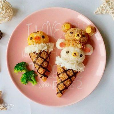 """轻松熊""""冰淇淋""""便当"""