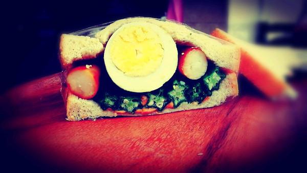 全蛋三明治的做法