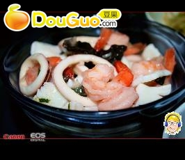 魔芋海鲜烩的做法
