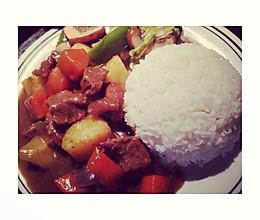 留學生版-咖喱土豆牛肉的做法